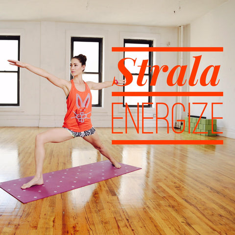 NEW! Strala ENERGIZE 1-Hour Class  : January 2016