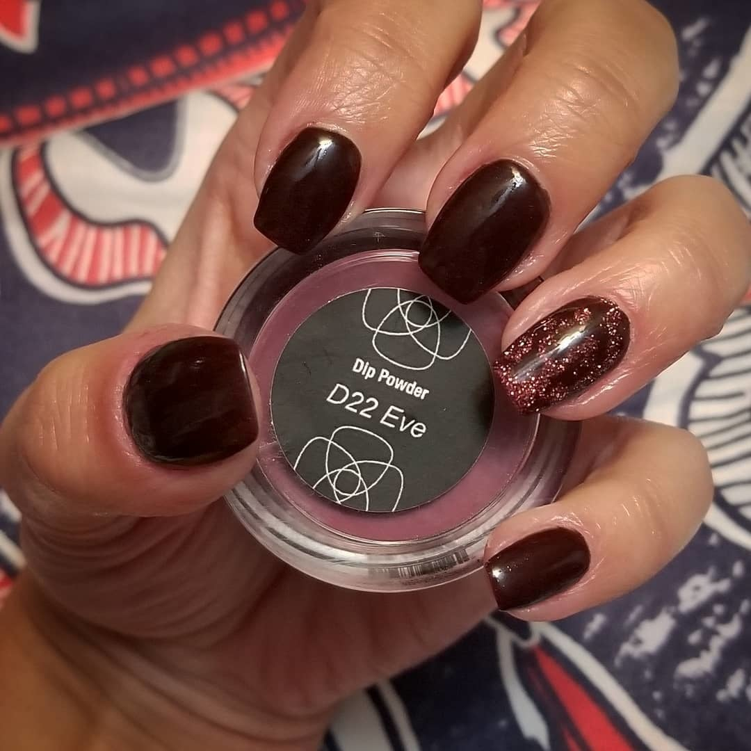Photo of Eve dip powder manicure/revel nail dip powder
