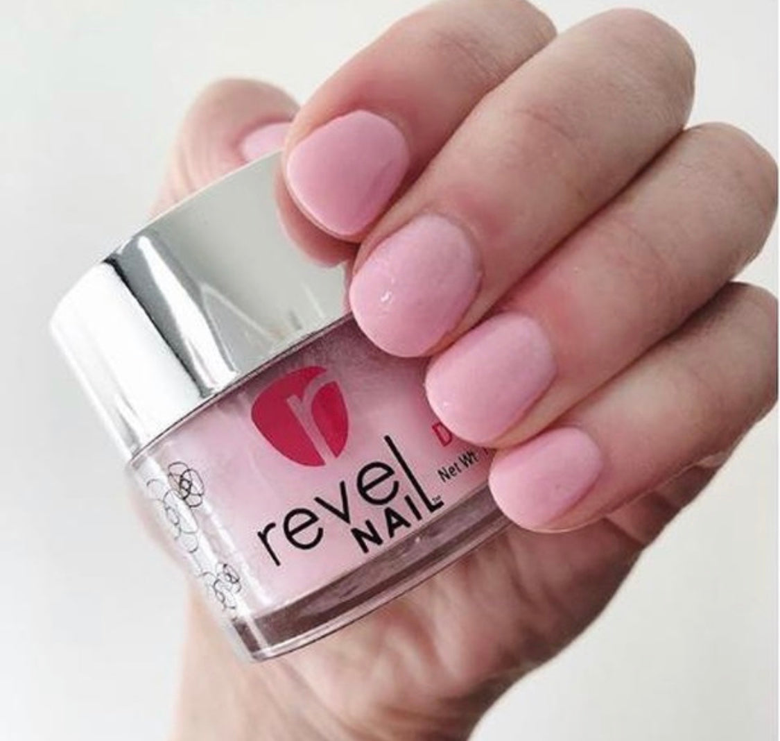 Revel Nail Dip Powder Jar Mani