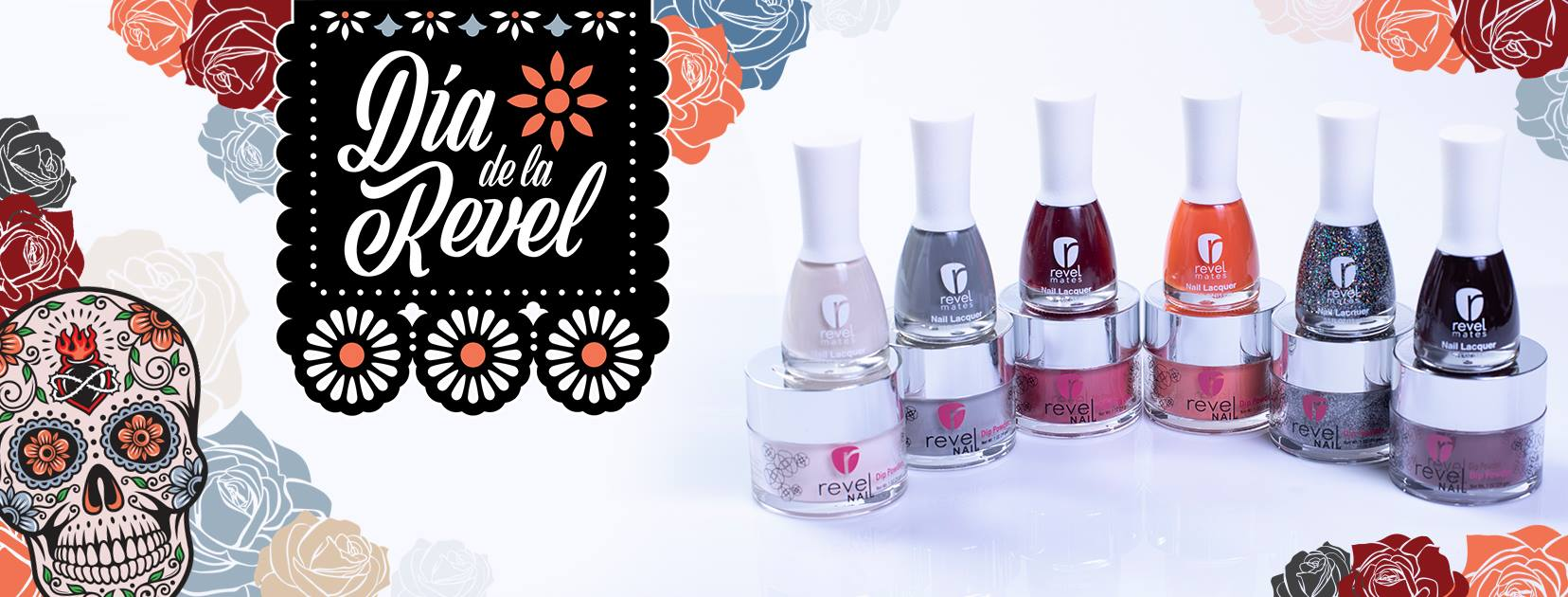 Revel Nail Dip Powder - All Dia De La Revel Colors