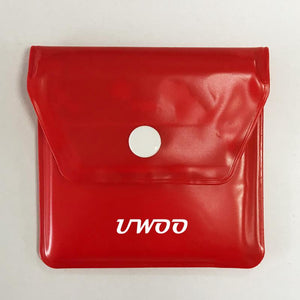 UWOO Bags Ashtray Portable Compact Reusable Cigarette Bag Odourless Fire Resistant Ash Holder for Smokers on The Go Outdoors Travel Pack(No shipment individual orders)