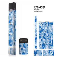 Load image into Gallery viewer, Protective Sticker for JUUL Wrap, JUUL Skin Vinyl Sticker Decal and Charger Skin by UWOO Heat not Burn