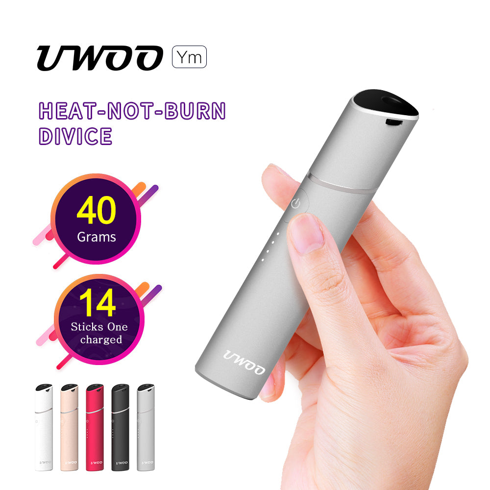 UWOO Ym heat not burn device Ceramic pin compartible with Marlboro and Heets IQOS heatsticks