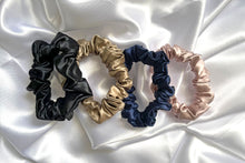 Load image into Gallery viewer, Silk Midi Scrunchies- Set of 4