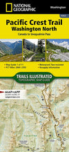 Load image into Gallery viewer, 1002 :: Pacific Crest Trail: Washington North [Canada to Snoqualmie Pass] Map Map Guides EVMAPLINK