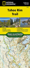 Load image into Gallery viewer, 1013 :: Tahoe Rim Trail Map Map Guides EVMAPLINK