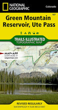 Load image into Gallery viewer, 107 :: Green Mountain Reservoir Ute Pass Map Trails Illustrated Maps EVMAPLINK