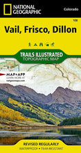 Load image into Gallery viewer, 108 :: Vail Frisco Dillon Map Trails Illustrated Maps EVMAPLINK