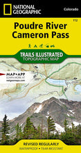 Load image into Gallery viewer, 112 :: Poudre River Cameron Pass Map Trails Illustrated Maps EVMAPLINK