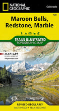 Load image into Gallery viewer, 128 :: Maroon Bells Redstone Marble Map Trails Illustrated Maps EVMAPLINK
