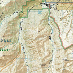 128 :: Maroon Bells Redstone Marble Map Trails Illustrated Maps EVMAPLINK