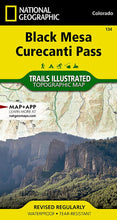 Load image into Gallery viewer, 134 :: Black Mesa Curecanti Pass Map Trails Illustrated Maps EVMAPLINK