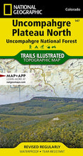 Load image into Gallery viewer, 147 :: Uncompahgre Plateau North [Uncompahgre National Forest] Map Trails Illustrated Maps EVMAPLINK