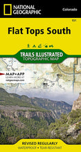 Load image into Gallery viewer, 151 :: Flat Tops South Map Trails Illustrated Maps EVMAPLINK
