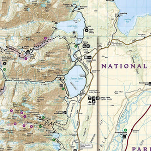 202 :: Grand Teton National Park Map Trails Illustrated Maps EVMAPLINK
