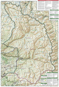 205 :: Sequoia and Kings Canyon National Parks Map Trails Illustrated Maps EVMAPLINK