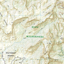 Load image into Gallery viewer, 214 :: Zion National Park Map Trails Illustrated Maps EVMAPLINK