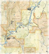 Load image into Gallery viewer, 2307 :: Colorado River Kremmling to Glenwood Springs Map Fishing Map Guide EVMAPLINK