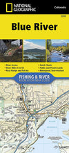 Load image into Gallery viewer, 2310 :: Blue River Map Fishing Map Guide EVMAPLINK