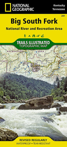 241 :: Big South Fork National River and Recreation Area Map Trails Illustrated Maps EVMAPLINK