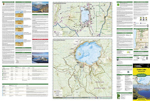 244 :: Crater Lake National Park Map Trails Illustrated Maps EVMAPLINK