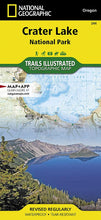 Load image into Gallery viewer, 244 :: Crater Lake National Park Map Trails Illustrated Maps EVMAPLINK