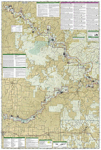 260 :: Ozark National Scenic Riverways Map Trails Illustrated Maps EVMAPLINK