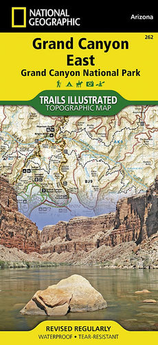 262 :: Grand Canyon East [Grand Canyon National Park] Map Trails Illustrated Maps EVMAPLINK