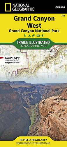 263 :: Grand Canyon West [Grand Canyon National Park] Map Trails Illustrated Maps EVMAPLINK