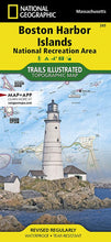 Load image into Gallery viewer, 265 :: Boston Harbor Islands National Recreation Area Map Trails Illustrated Maps Map-N-Hike