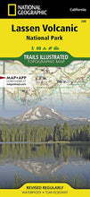 Load image into Gallery viewer, 268 :: Lassen Volcanic National Park Map Trails Illustrated Maps EVMAPLINK