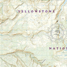 Load image into Gallery viewer, 303 :: Mammoth Hot Springs: Yellowstone National Park NW Map Trails Illustrated Maps EVMAPLINK
