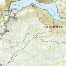 Load image into Gallery viewer, 307 :: Yosemite NW: Hetch Hetchy Reservoir Map Trails Illustrated Maps EVMAPLINK