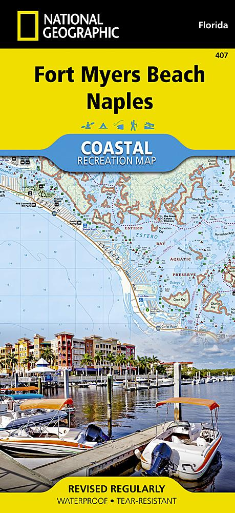 407 :: Fort Myers Beach Naples Map Trails Illustrated Maps EVMAPLINK
