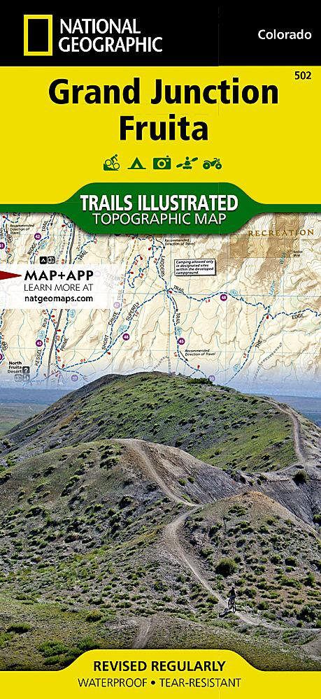 502 :: Grand Junction Fruita Map Trails Illustrated Maps EVMAPLINK