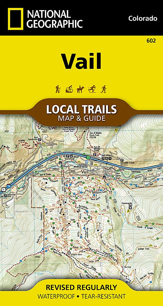602 :: Vail Map [Local Trails] Local Trails EVMAPLINK