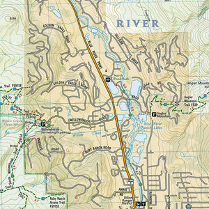 607 :: Dillon Silverthorne Map [Local Trails] Local Trails EVMAPLINK