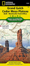Load image into Gallery viewer, 706 :: Grand Gulch Cedar Mesa Plateau Map [BLM - Monticello Field Office] Trails Illustrated Maps EVMAPLINK