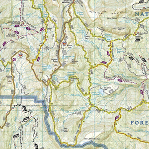 707 :: Fish Lake Manti Map Trails Illustrated Maps EVMAPLINK