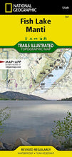 Load image into Gallery viewer, 707 :: Fish Lake Manti Map Trails Illustrated Maps EVMAPLINK