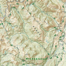 Load image into Gallery viewer, 721 :: Absaroka-Beartooth Wilderness West Map [Gardiner Livingston] Trails Illustrated Maps EVMAPLINK