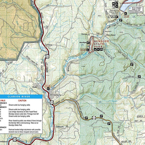 739 :: Allegheny South Map [Allegheny National Forest] Trails Illustrated Maps EVMAPLINK