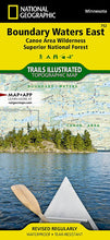 Load image into Gallery viewer, 752 :: Boundary Waters East [Canoe Area Wilderness Superior National Forest] Map Trails Illustrated Maps EVMAPLINK