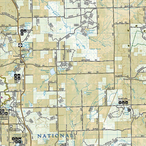 759 :: Manistee South [Manistee National Forest] Map Trails Illustrated Maps EVMAPLINK