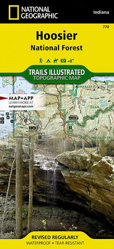 770 :: Hoosier National Forest Map Trails Illustrated Maps EVMAPLINK