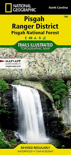 780 :: Pisgah Ranger District [Pisgah National Forest] Map Trails Illustrated Maps EVMAPLINK
