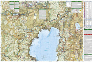 803 :: Lake Tahoe Basin [US Forest Service] Map Trails Illustrated Maps EVMAPLINK