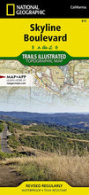 Load image into Gallery viewer, 815 :: Skyline Boulevard Map Trails Illustrated Maps EVMAPLINK