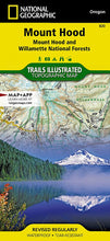 Load image into Gallery viewer, 820 :: Mount Hood [Mount Hood and Willamette National Forests] Map Trails Illustrated Maps EVMAPLINK