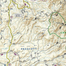 Load image into Gallery viewer, 854 :: Sycamore Canyon Verde Valley [Coconino Kaibab and Prescott National Forests] Map Trails Illustrated Maps EVMAPLINK